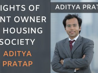 Rights of Joint Owner of Flat and Associate member in a housing society